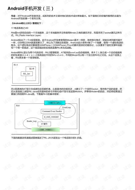 Android手机开发(三)