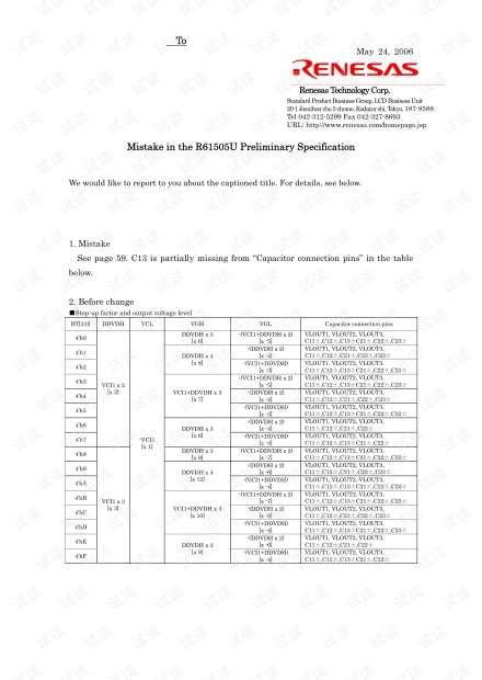 Mistake in the R61505U Preliminary Specification.pdf