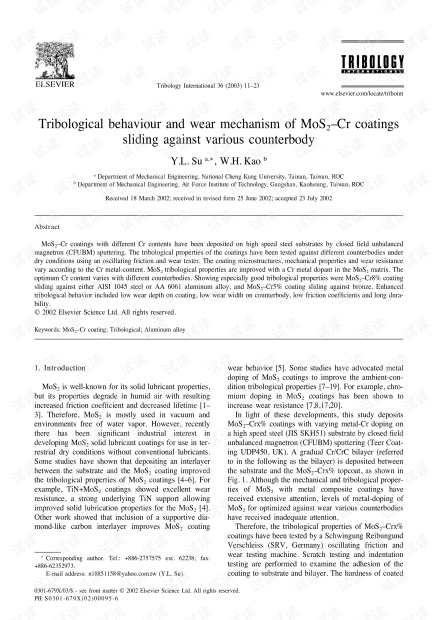 Tribological-behaviour-and-wear-mechanism-of-MoS2-Cr-coat_2003_Tribology-Int.pdf