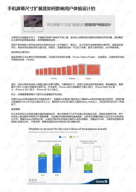 手机屏幕尺寸扩展是如何影响用户体验设计的