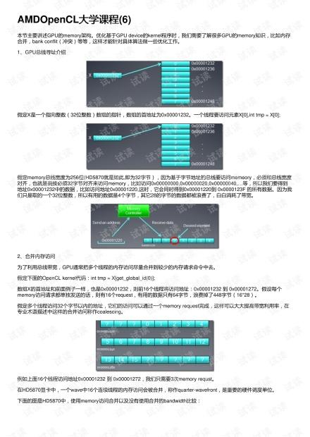 AMDOpenCL大学课程(6)
