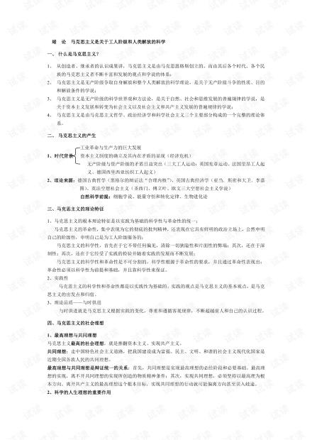 成都理工大学《马原》复习资料..pdf