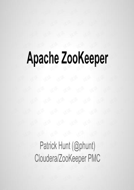 Apache ZooKeeper - Mesosphere.pdf