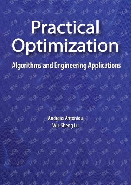 [Andreas Antoniou]Practical Optimization.pdf