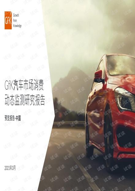 2021汽车市场消费动态监测研究报告.pdf