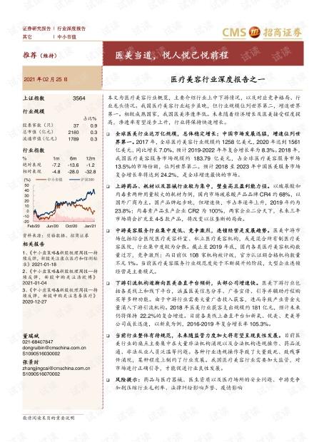 医美当道,悦人悦己悦前程.pdf