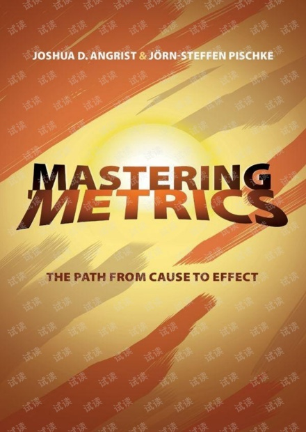 Mastering 'Metrics The Path from Cause to Effect