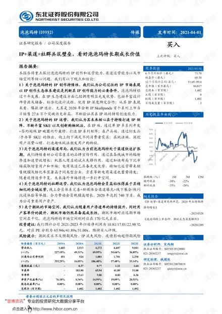 20210401-东北证券-泡泡玛特-9992.HK-IP+渠道+社群共筑壁垒,看好泡泡玛特长期成长价值.pdf