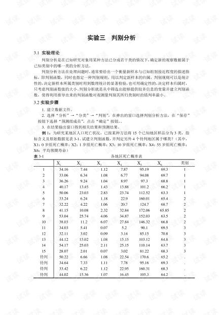 多元统计分析实验指导三.pdf