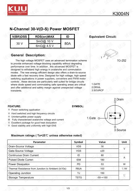 K3004N TO-252.pdf