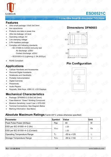 DFN0603_ESD0521C.pdf
