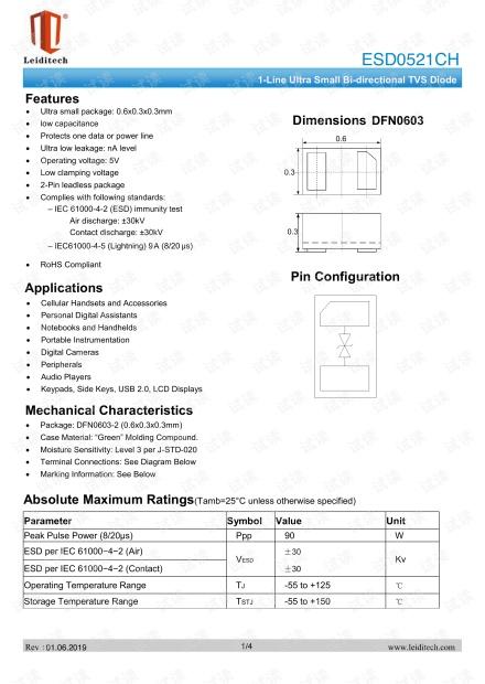 DFN0603_ESD0521CH.pdf
