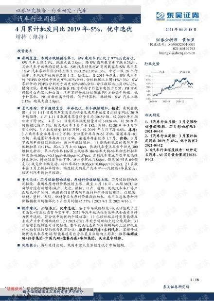 20210418-东吴证券-汽车行业周报:4月累计批发同比2019年下降5%,优中选优.pdf