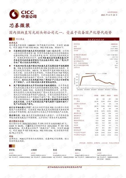 20210419-中金公司-芯碁微装-688630-国内微纳直写光刻头部公司之一,受益于设备国产化替代趋势.pdf