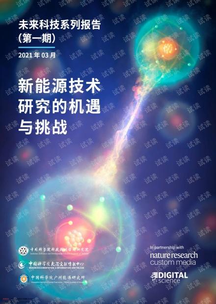 20210420-中国科学院科技战略咨询研究院-科技行业未来科技系列报告(第一期)2021年03月:新能源技术研究的机遇与挑战.pdf