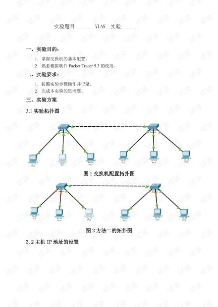 计算机网络实验-vlan实验报告.pdf