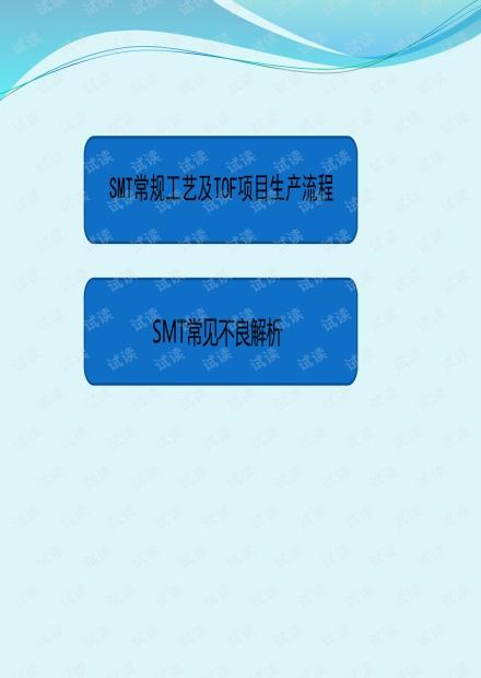 SMT工艺培训课件2020版.pdf