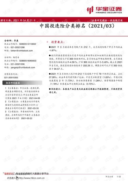 20210421-华宝证券-投连险月报:中国投连险分类排名(202103).pdf