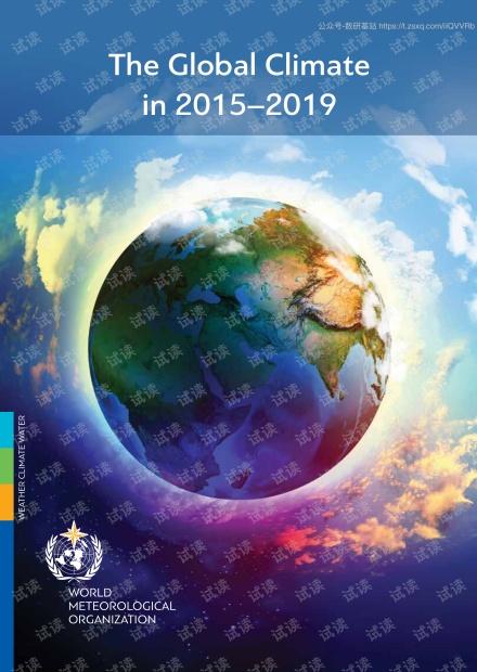 2015-2019年全球气候(英文版).pdf
