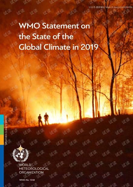 2019年全球气候状况(英文版).pdf