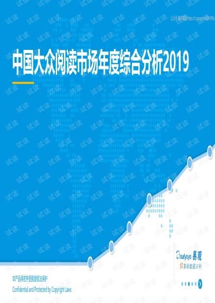 中国大众阅读市场年度综合分析2019-2019.6.pdf