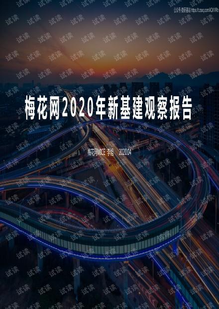 2020年新基建观察报告精品报告2020.pdf