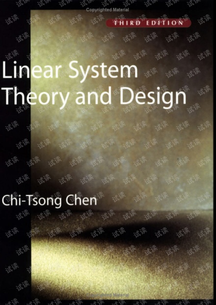 Chen C.-T. Linear System Theory and Design (3ed. Oxford,   1999)(L)(176s)