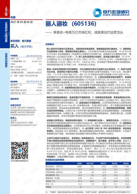 20210506-申万宏源-丽人丽妆-605136-享美妆+电商万亿市场红利,成就美妆代运营龙头.pdf