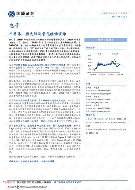 20210506-国盛证券-电子行业:半导体,历史级别景气继续演绎.pdf