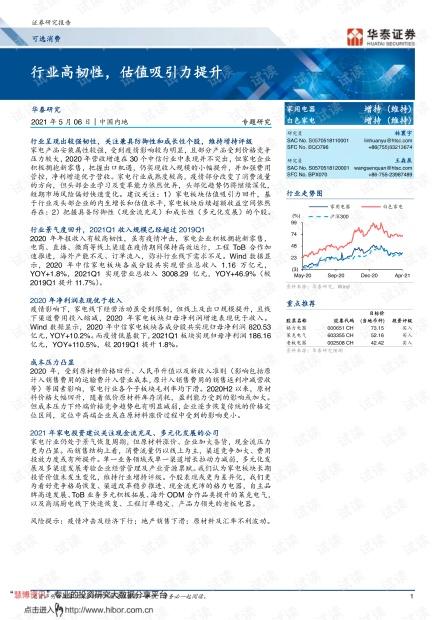 20210506-华泰证券-可选消费行业:_行业高韧性,估值吸引力提升.pdf