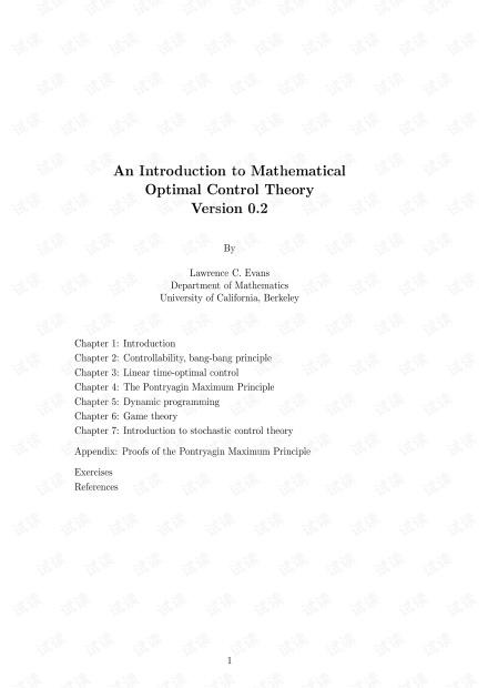 Mathematical Optimal Control Theory.pdf