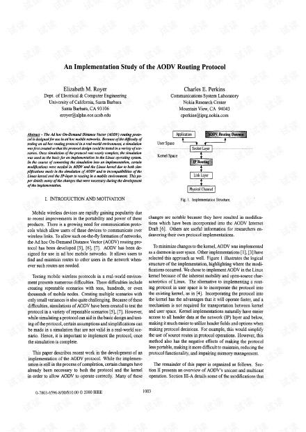 AODV实现的研究.pdf