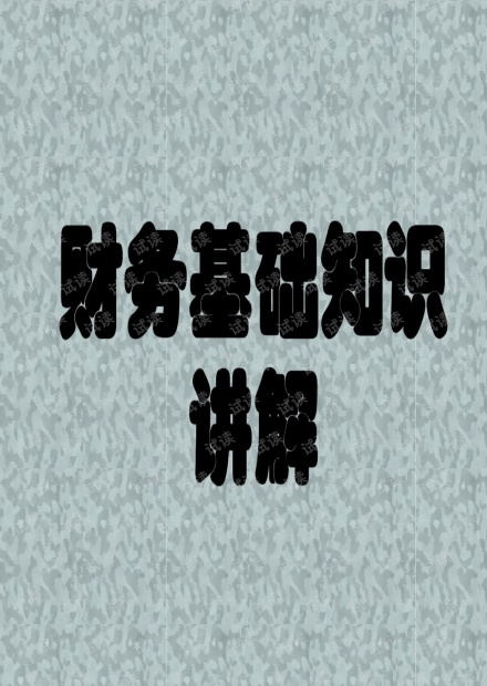 初级会计实务基础知识讲解.pdf
