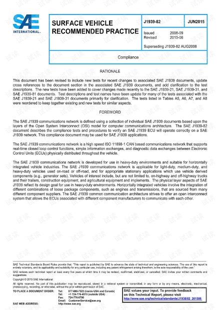 SAE J1939-82-2015 Compliance(符合性) - 完整英文版(62页)