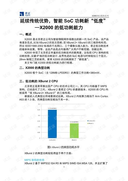X2000的低功耗 能力.pdf