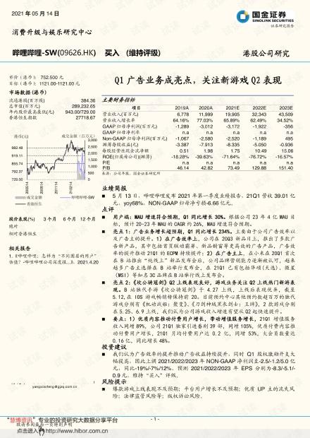 20210514-国金证券-哔哩哔哩~SW-9626.HK-Q1广告业务成亮点,关注新游戏Q2表现.pdf