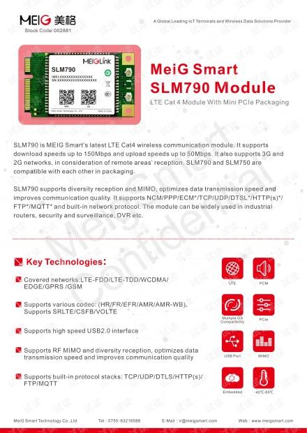 SLM790_MiniPCIe_Module Sepcification_V1.0.pdf