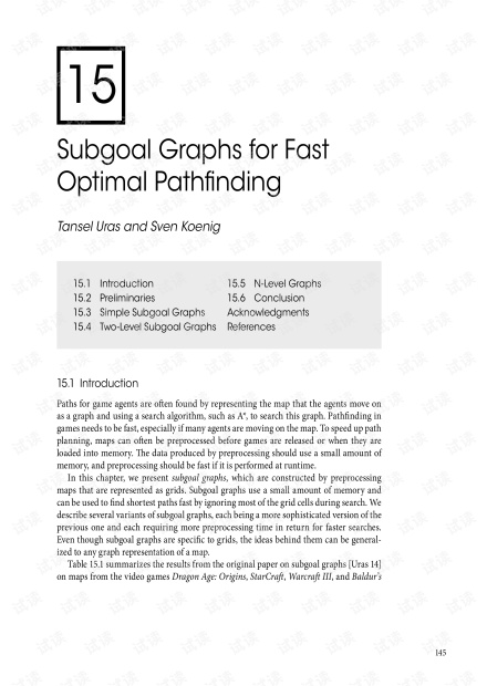 GameAIPro2_Chapter15_Subgoal_Graphs_for_Fast_Optimal_Pathfinding.pdf