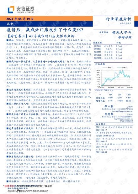 20210519-安信证券-家电行业深度分析:疫情后,集成灶门店发生了什么变化?.pdf