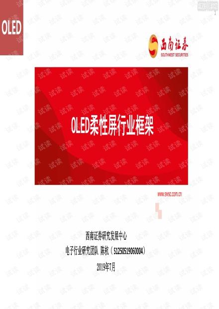 OLED柔性屏行业框架.pdf