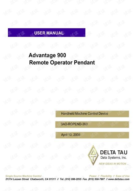 Adv 900 Pendant.pdf