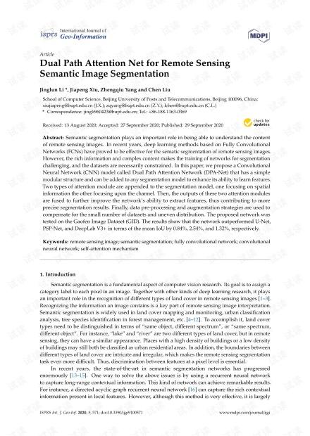 Dual Path Attention Net for Remote Sensing Semantic Image Segmentation.pdf