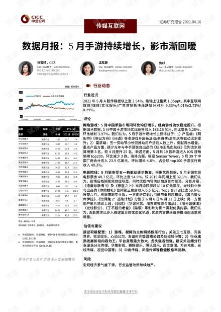 20210616-中金公司-传媒互联网行业数据月报:5月手游持续增长,影市渐回暖.pdf