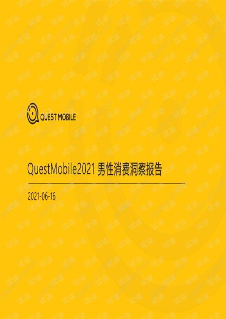 2021男性消费洞察报告.pdf