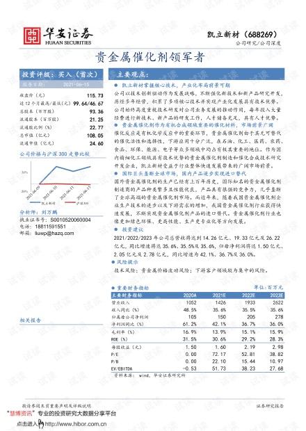 20210615-华安证券-凯立新材-688269-贵金属催化剂领军者.pdf