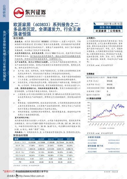 20210615-东兴证券-欧派家居-603833-系列报告二:多品类沉淀,全渠道发力,行业王者强者恒强.pdf