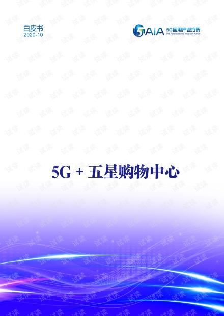 5G+五星购物中心行业白皮书.pdf