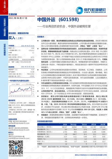 20210617-申万宏源-中国外运-601598-行业再迎历史机会,中国外运破局在望.pdf