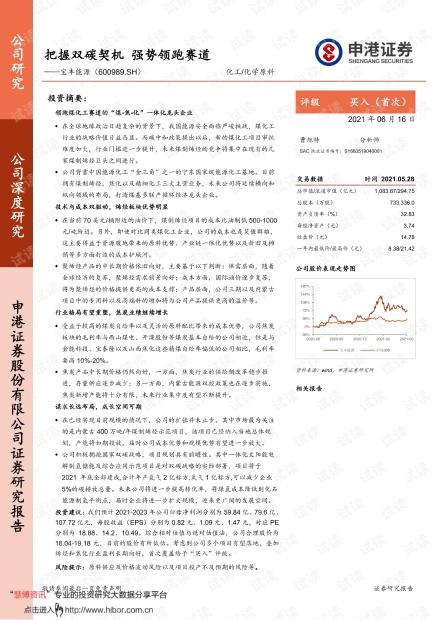 20210616-申港证券-宝丰能源-600989-把握双碳契机,强势领跑赛道.pdf