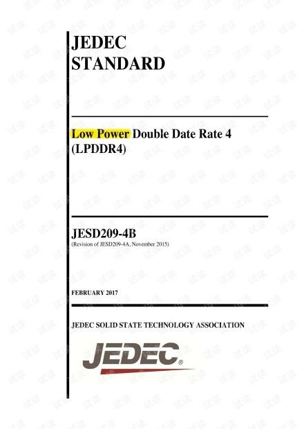 JESD209-4B_LPDDR4 解读.pdf
